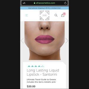 OFRA Makeup - Ofra Cosmetics Liquid Lipstick-Santorini
